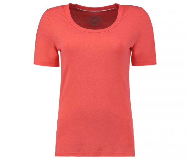 Tony Brown Basic T-Shirt Rundhals Woman