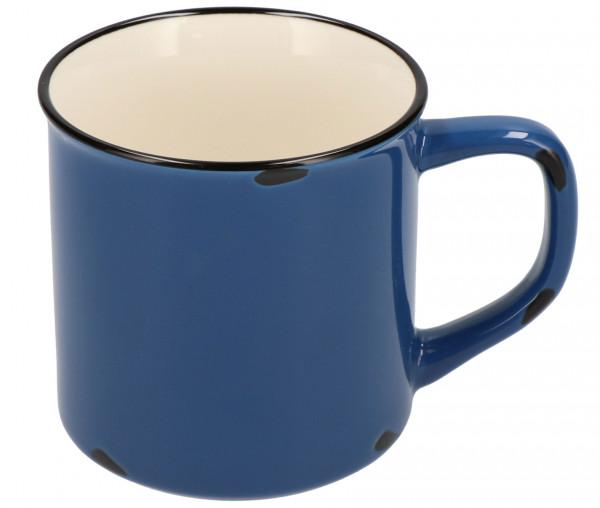 Kaffeebecher 300 ml in Emaille-Optik