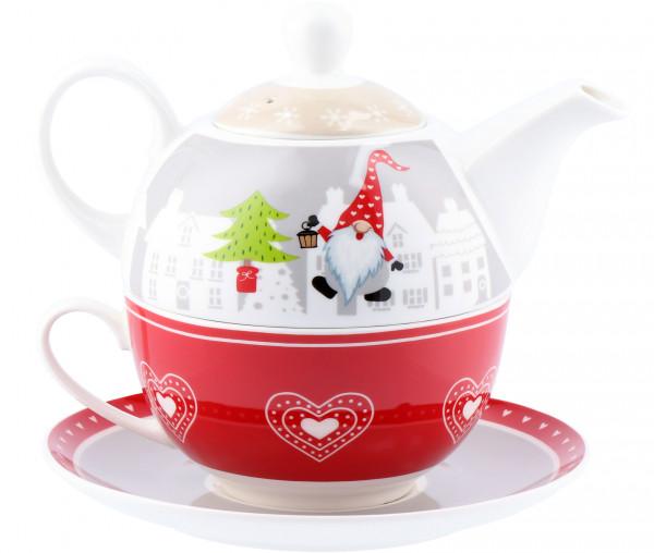 Teekannen-Set Wichtel