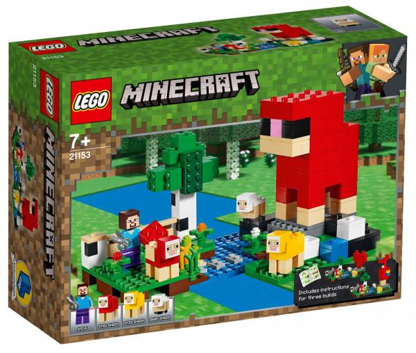 21153 LEGO® Minecraft™ Die Schaffarm