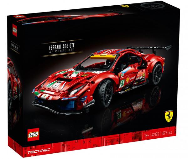 "42125 LEGO® Technic Ferrari 488 GTE ""AF Corse #51"""