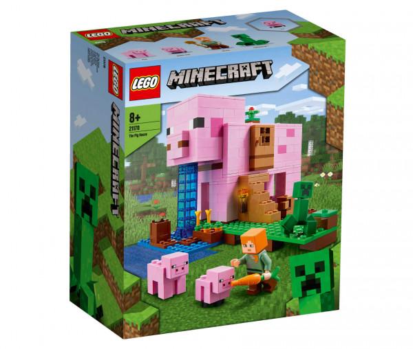21170 LEGO® Minecraft™ Das Schweinehaus