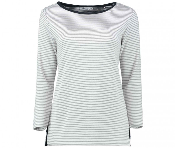 Julia Brown Damen Sweatshirt Streifen