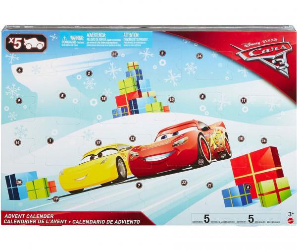 Mattel Adventskalender Disney Cars 3