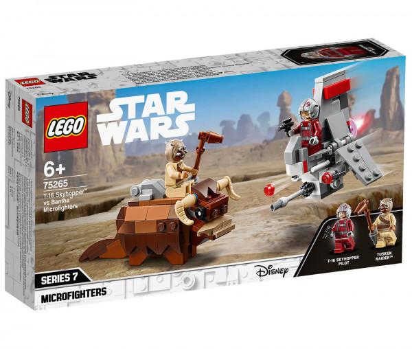 75265 LEGO® Star Wars™ T-16 Skyhopper™ vs Bantha™ Microfighters