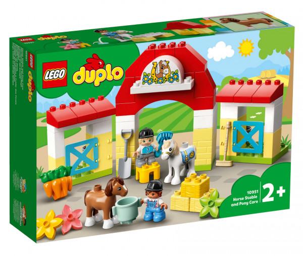 10951 LEGO® DUPLO® Pferdestall und Ponypflege