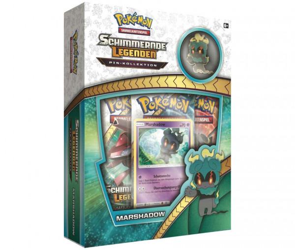 Pokémon Schimmernde Legenden Pin-Kollektion Marshadow