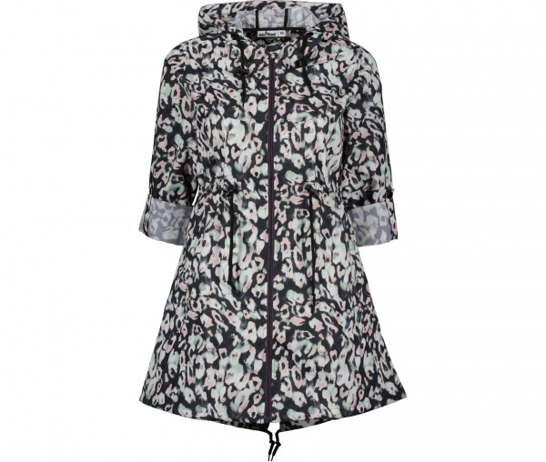 Julia Brown Damen Windjacke Windy Leoprint