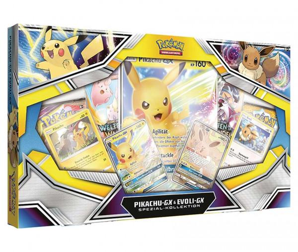 Pokémon Spezial-Kollektion Pikachu-Gx & Evoli-Gx