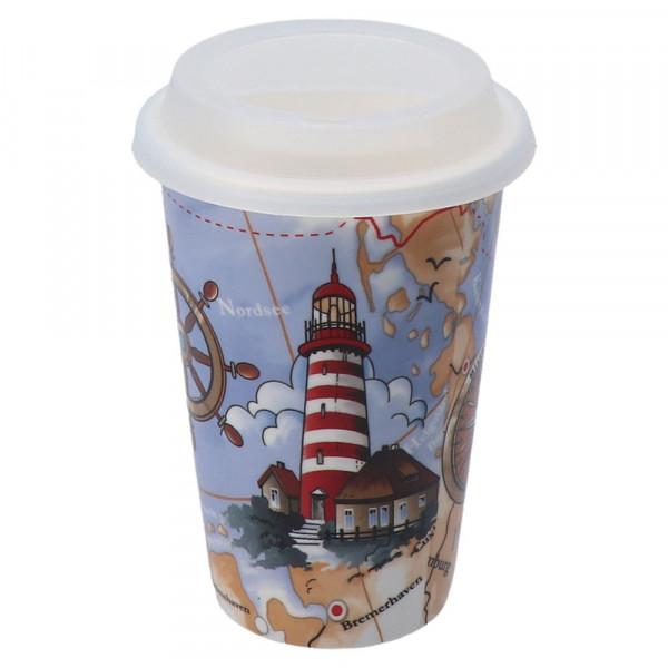 Tony Brown Coffee to go Becher Leuchtturm