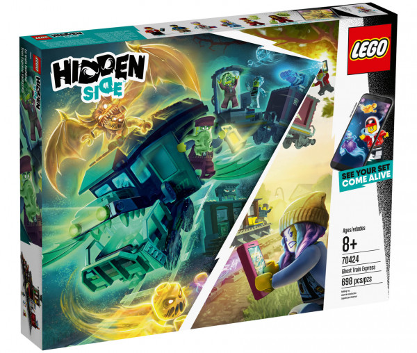 70424 LEGO® Hidden Side™ Geister-Expresszug