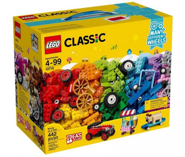 10715 LEGO® Classic Kreativ-Bauset Fahrzeuge