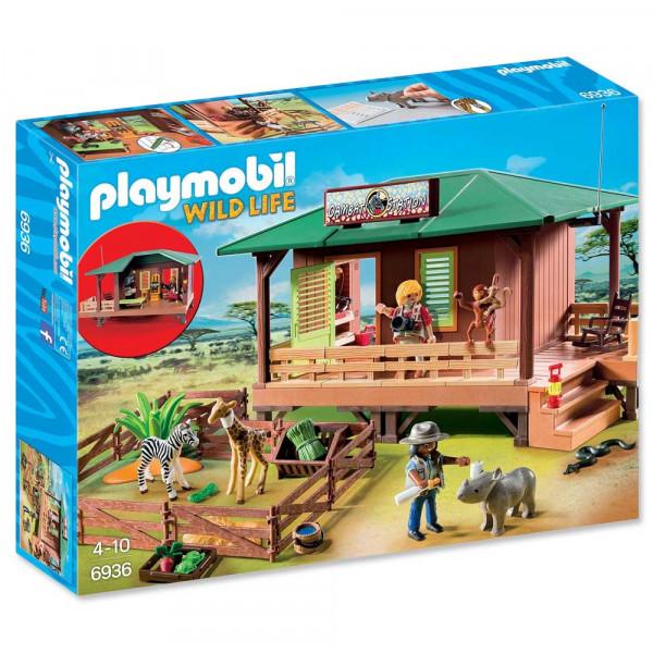 Playmobil 6936 - Rangerstation mit Tieraufzucht