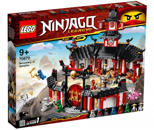70670 LEGO® NINJAGO® Kloster des Spinjitzu