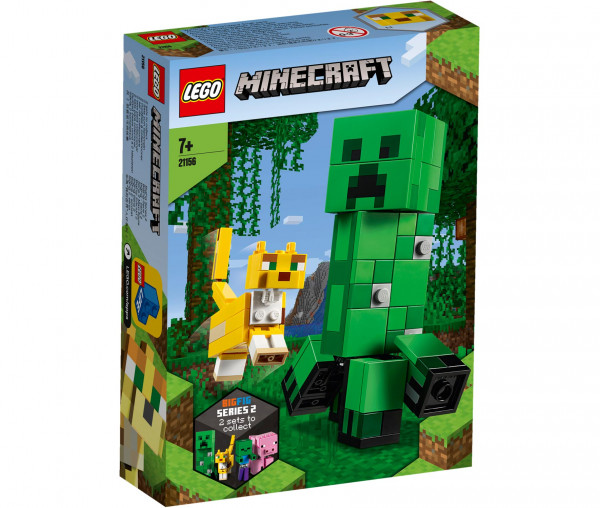 21156 LEGO® Minecraft™ BigFig Creeper™ und Ozelot