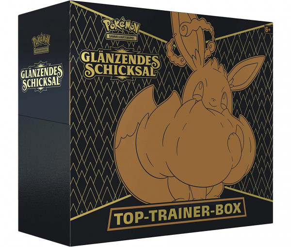 Pokémon Top Trainer Box Glänzendes Schicksal