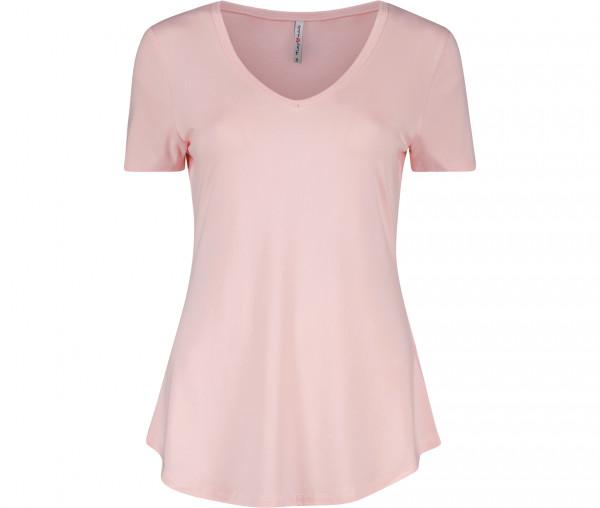 Marymaids Damen T-Shirt Yummy Unifarben
