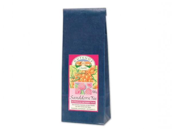 Avita Sanddorn Tee mit Himbeeren und feinster Vanille