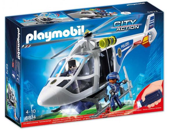 Playmobil 6874 - Polizei Helikopter