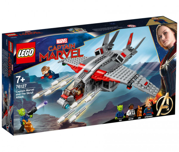 76127 LEGO® Marvel Super Heroes Captain Marvel und die Skrull-Attacke