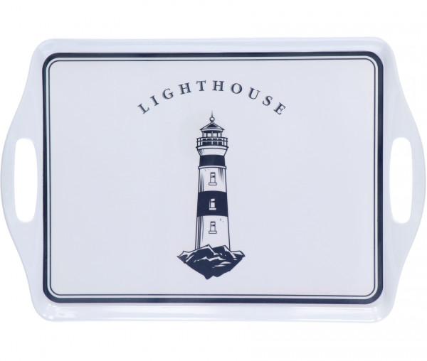 Tony Brown Tablett Leuchtturm