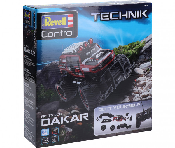 Revell Control Technik Car Dakar