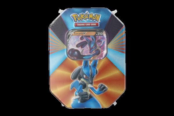 Pokémon Spring Tin Lucario-V