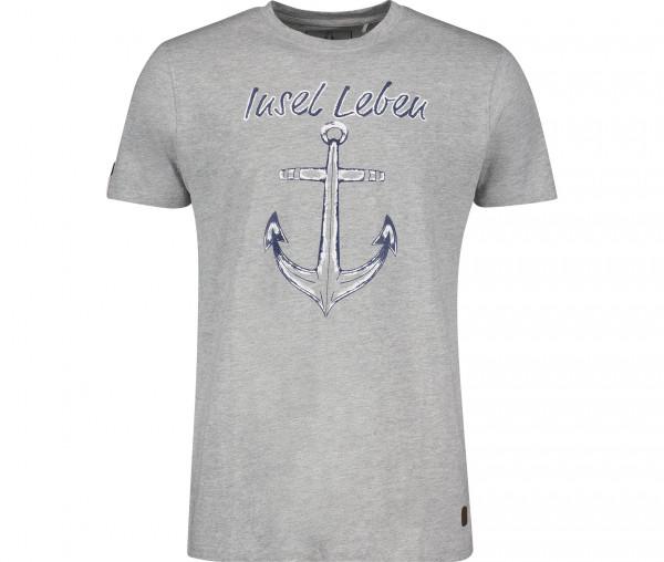 InselLeben Herren T-Shirt Torben Anker