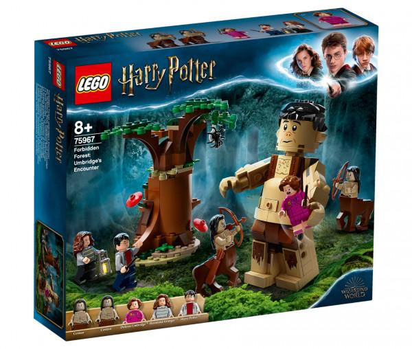 75967 LEGO® Harry Potter™ Der Verbotene Wald: Begegnung mit Umbridge
