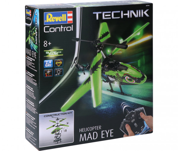 Revell Control Technik Helicopter Mad Eye