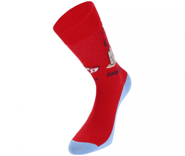 InselLeben Unisex Socken Möwe mit Rettungsring