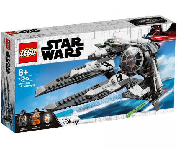 75242 LEGO® Star Wars™ TIE Interceptor™ – Allianz-Pilot