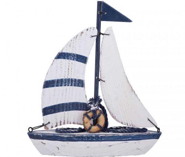 Deko-Segelboot aus Holz