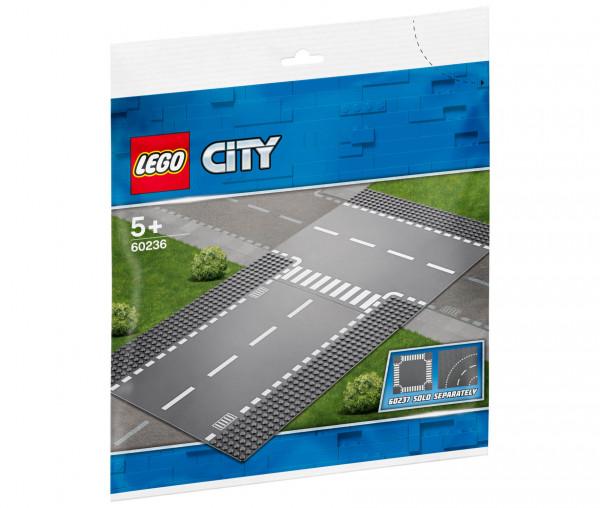 60236 LEGO® City Gerade und T-Kreuzung