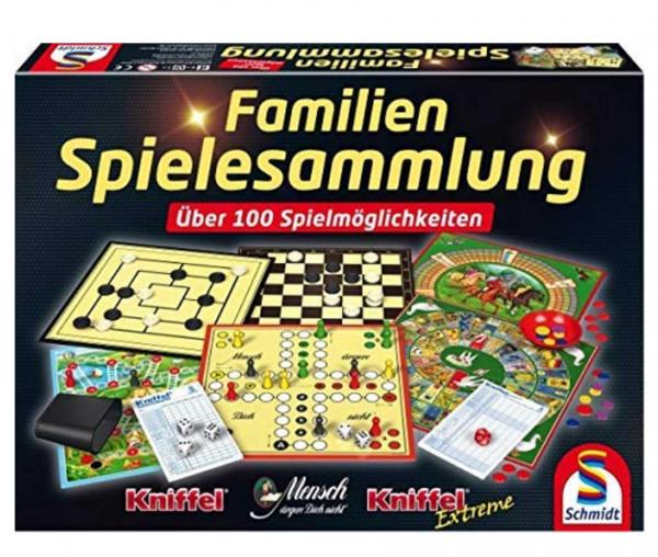 Schmidt Spiele 100 Familienspielesammlung