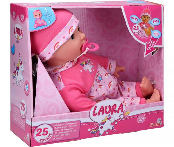 Simba Puppe Laura Kitzel-Baby
