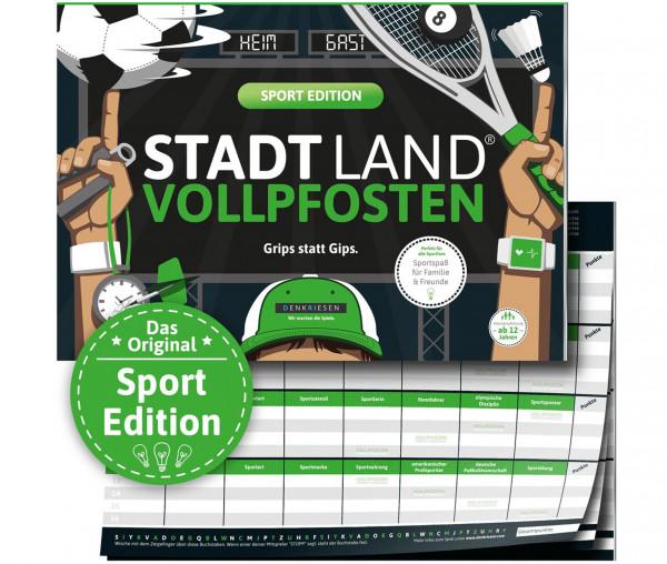 STADT LAND VOLLPFOSTEN® - Sport Edition - Grips statt Gips.