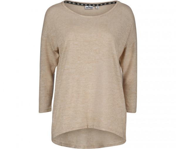 Julia Brown Damen Pullover Mia Unifarben