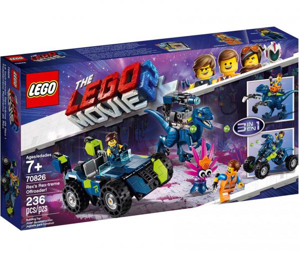 "70826 THE LEGO® MOVIE 2™ Rex' ""Rextremes"" Offroad-Fahrzeug"