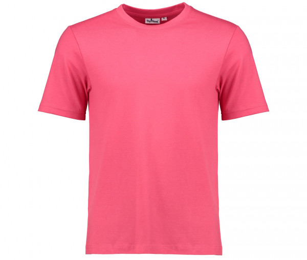 Tony Brown Herren T-Shirt Rundhals Unifarben