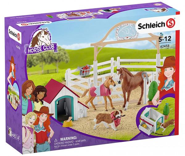 Schleich 42458 Horse Club Hannahs Gastpferde