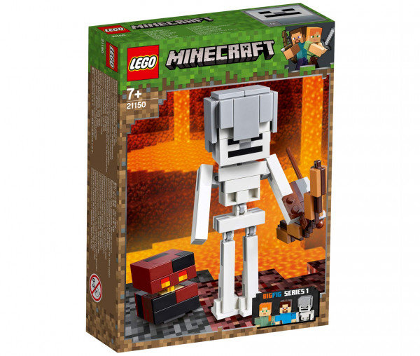 21150 LEGO® Minecraft™ BigFig Skelett mit Magmawürfel