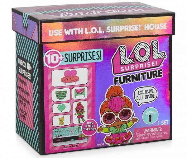L.O.L. Surprise Furniture Bedroom