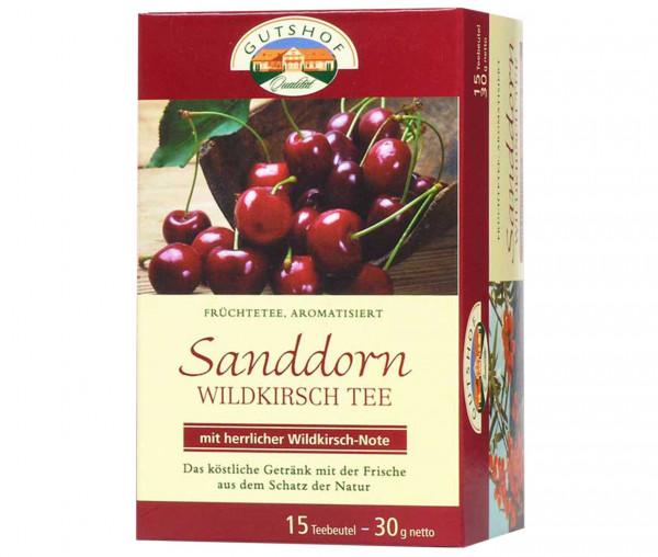 Avita Sanddorn Wildkirsch Tee (Aufgussbeutel)