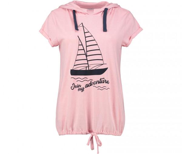 Sublevel Damen T-Shirt Segelschiff