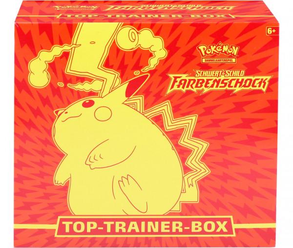 Pokémon Schwert & Schild Top-Trainer-Box Farbenschock
