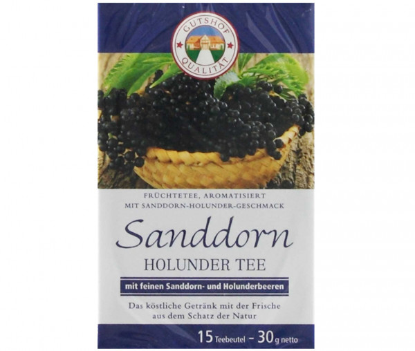 Avita Sanddorn Holunder Tee (Aufgussbeutel)