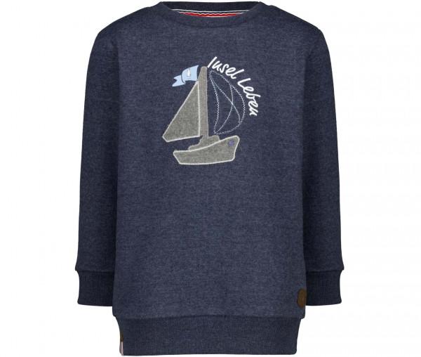 InselLeben Kinder Pullover Segelboot