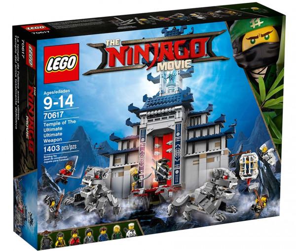 70617 LEGO® NINJAGO® Ultimativ ultimatives Tempel-Versteck