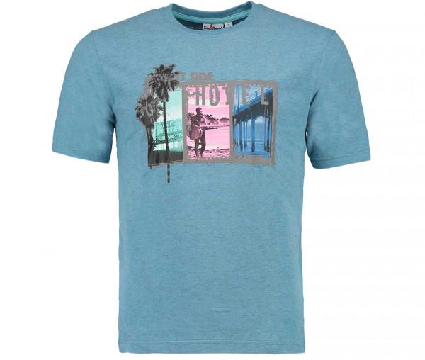 Tony Brown Herren T-Shirt Side Hotel